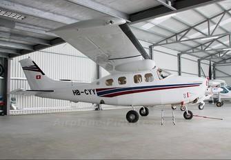 HB-CYY - Private Cessna 210 Centurion