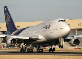 HS-TGR - Thai Airways Boeing 747-400