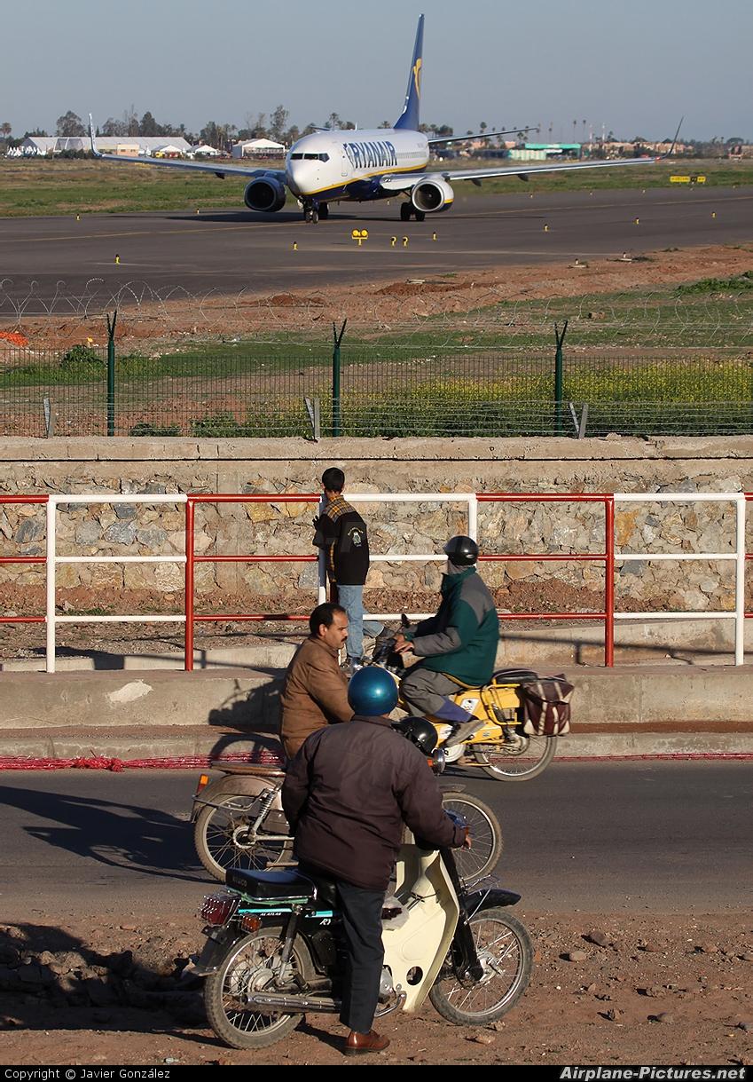 Ryanair EI-EFI aircraft at Marrakech - Menara