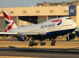 G-CIVW - British Airways Boeing 747-400 aircraft