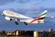 A6-EAI - Emirates Airlines Airbus A330-200 aircraft