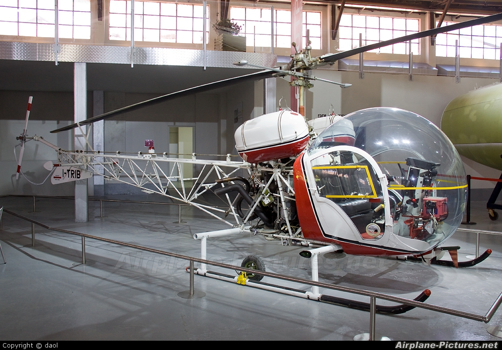 Private I-TRIB aircraft at Milan - Malpensa