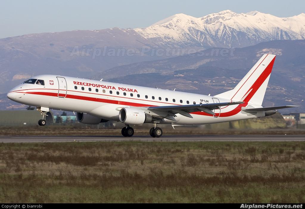 Poland - Government SP-LIH aircraft at Verona - Villafranca