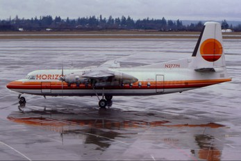 N277PH - Horizon Air Fairchild F-27