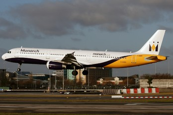 G-OZBS - Monarch Airlines Airbus A321