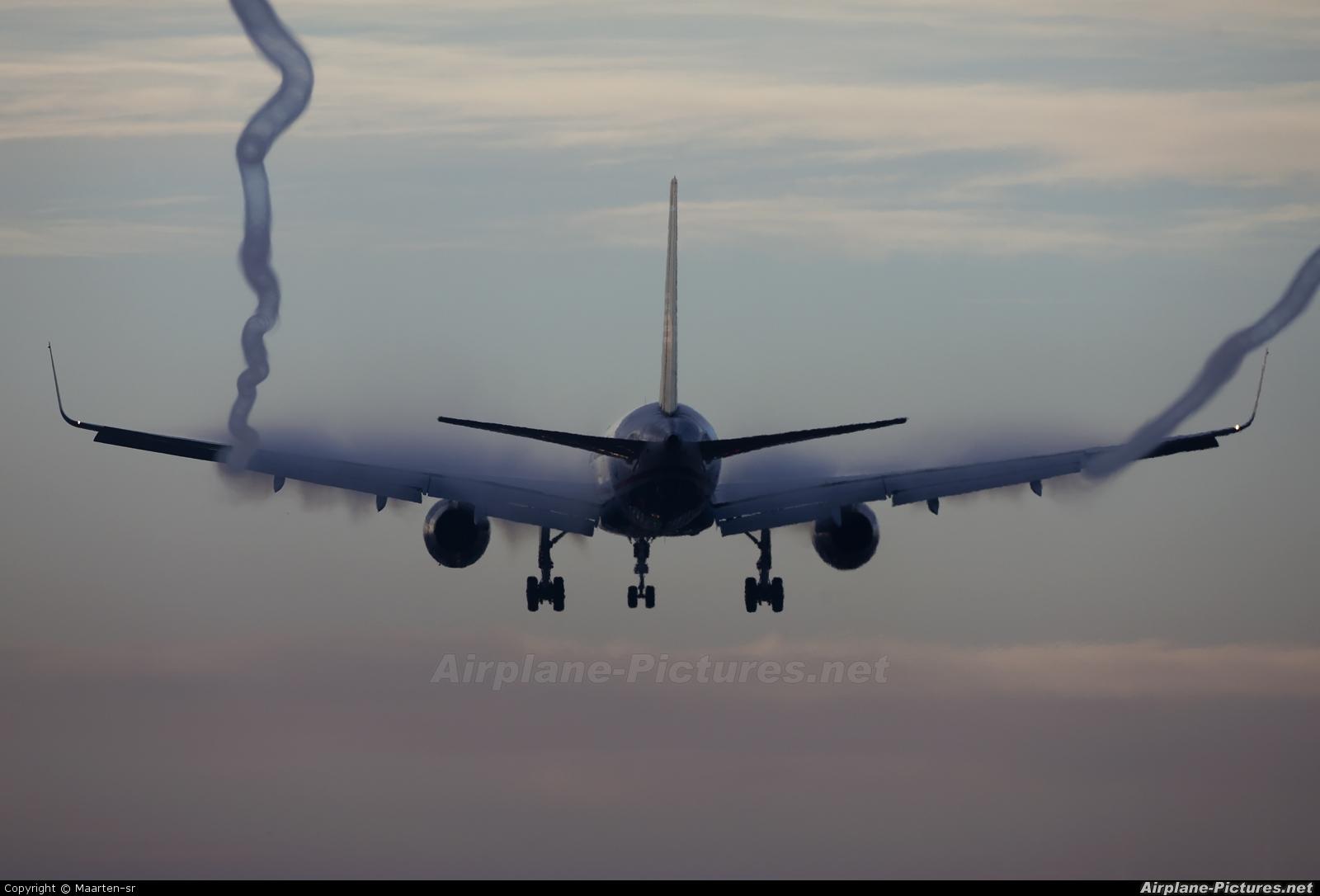 US Airways - aircraft at Amsterdam - Schiphol