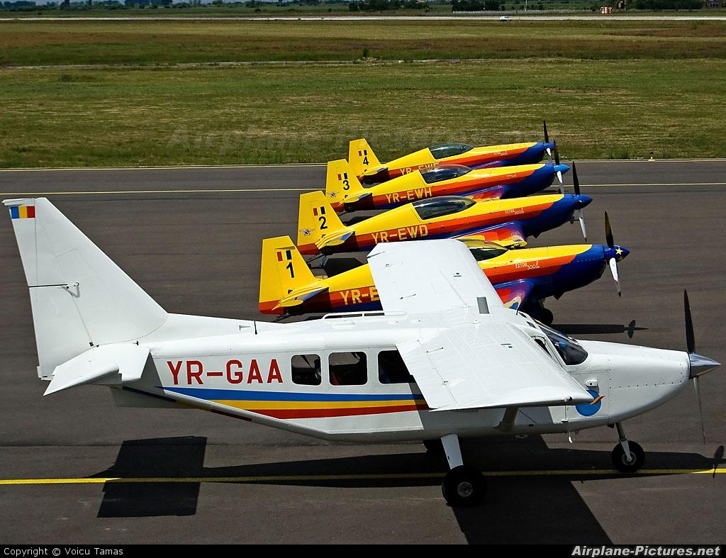Romanian Airclub YR-GAA aircraft at Arad