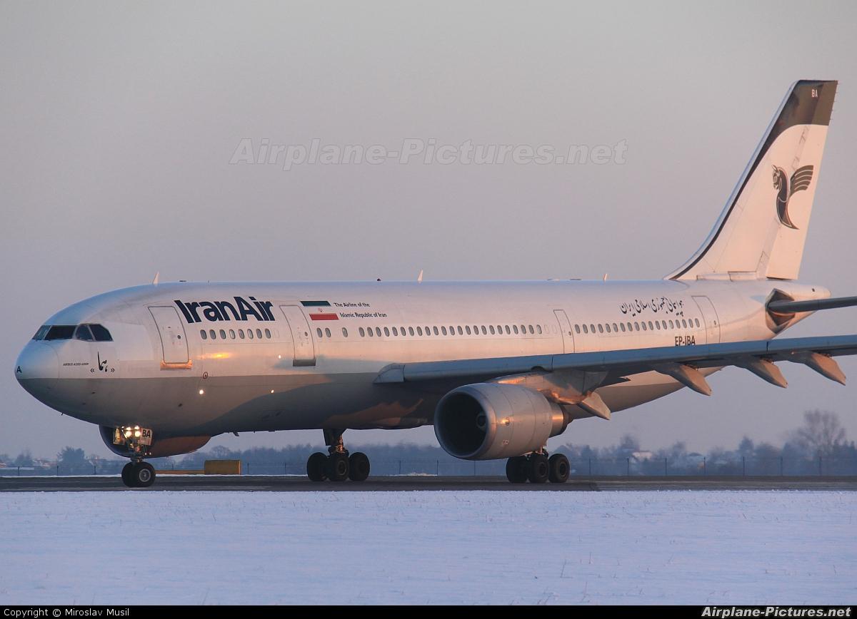 Iran Air EP-IBA aircraft at Prague - Václav Havel