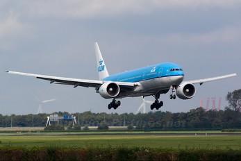 PH-BQH - KLM Boeing 777-200ER