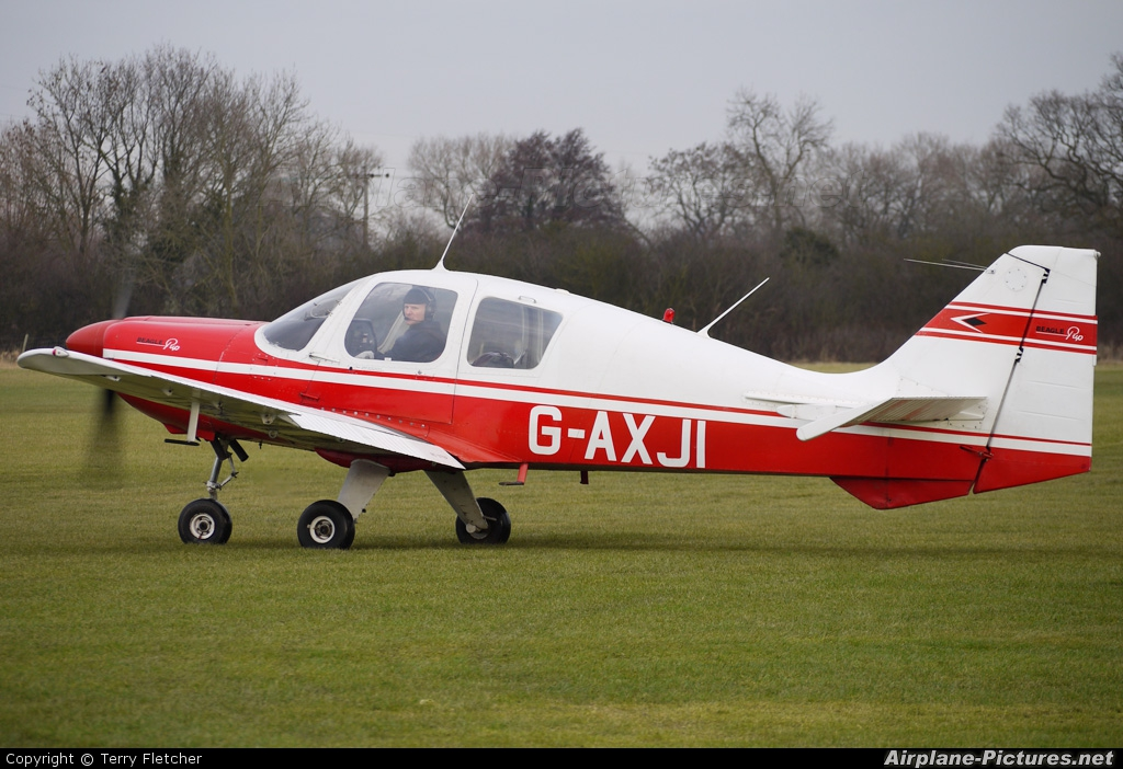 Private G-AXJI aircraft at Derby