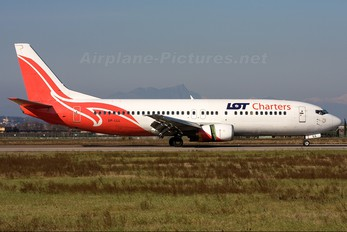 SP-LLL - LOT Charters Boeing 737-400