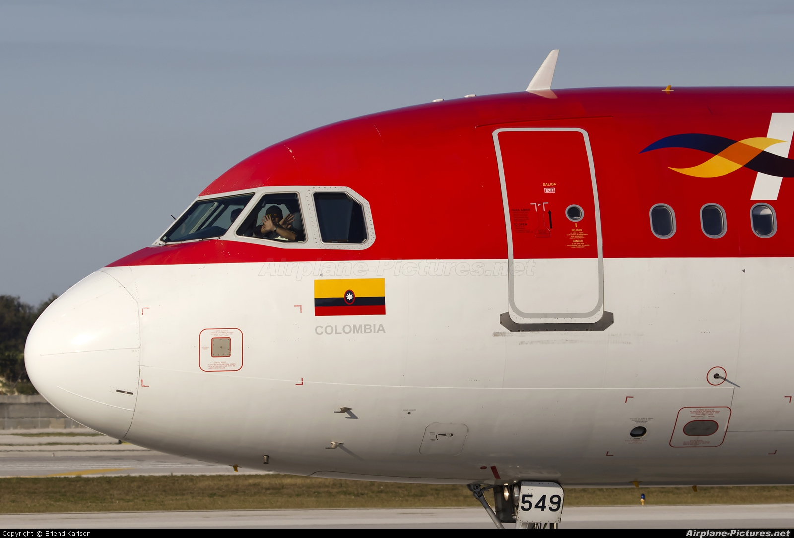 Avianca HK-4549 aircraft at Fort Lauderdale - Hollywood Intl