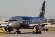 N529NK - Spirit Airlines Airbus A319 aircraft