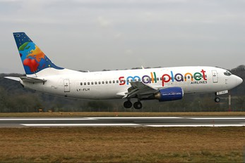 LY-FLH - Small Planet Airlines Boeing 737-300