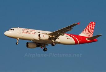 A9C-BAV - Bahrain Air Airbus A320