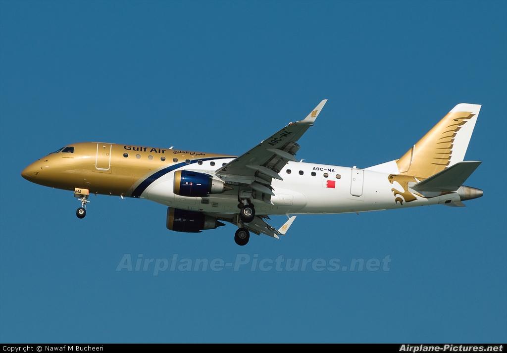 Gulf Air A9C-MA aircraft at Bahrain Intl