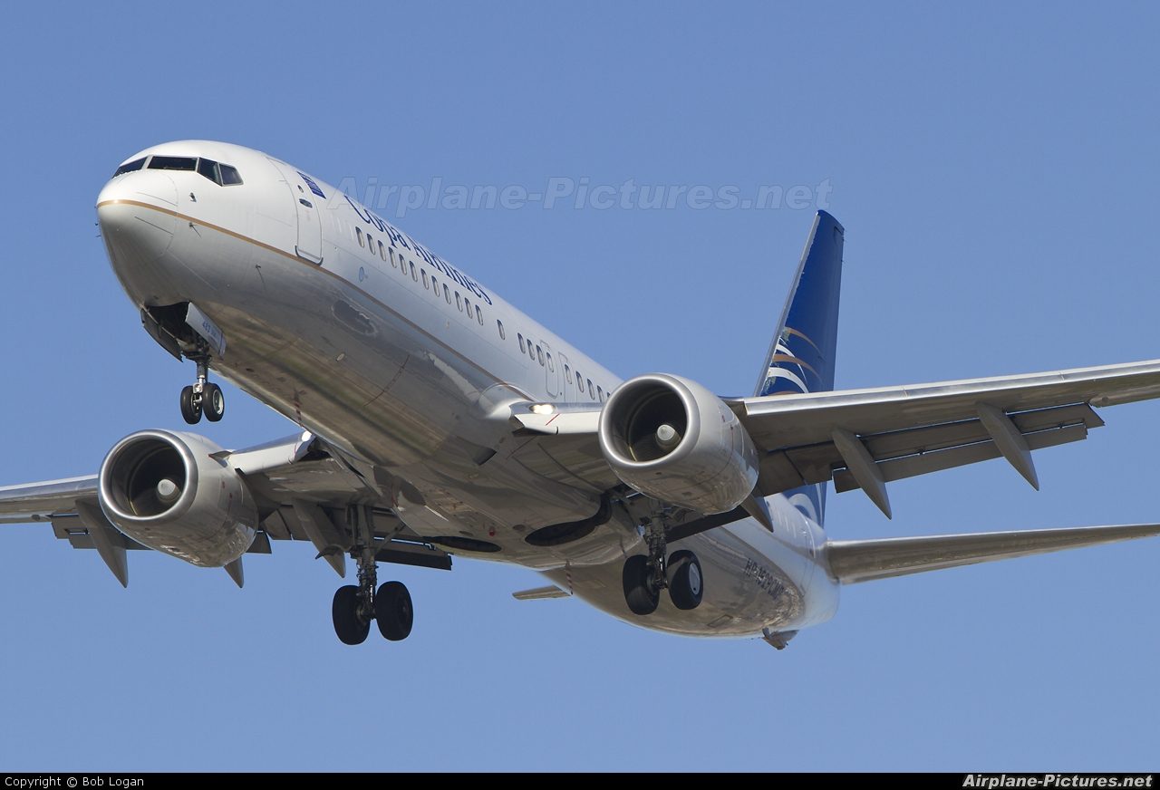Copa Airlines HP-1529CMP aircraft at Los Angeles Intl