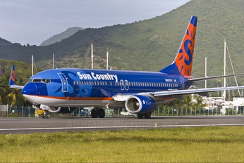 N809SY - Sun Country Airlines Boeing 737-800