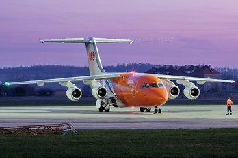 OO-TAZ - TNT British Aerospace BAe 146-200/Avro RJ85-QC