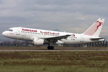 TS-IMK - Tunisair Airbus A319