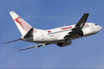 TS-IOQ - Tunisair Boeing 737-600
