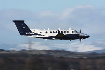 G-COBM - Cobham Aviation Beechcraft 300 King Air 350