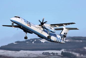 G-FLBD - Flybe de Havilland Canada DHC-8-400Q / Bombardier Q400