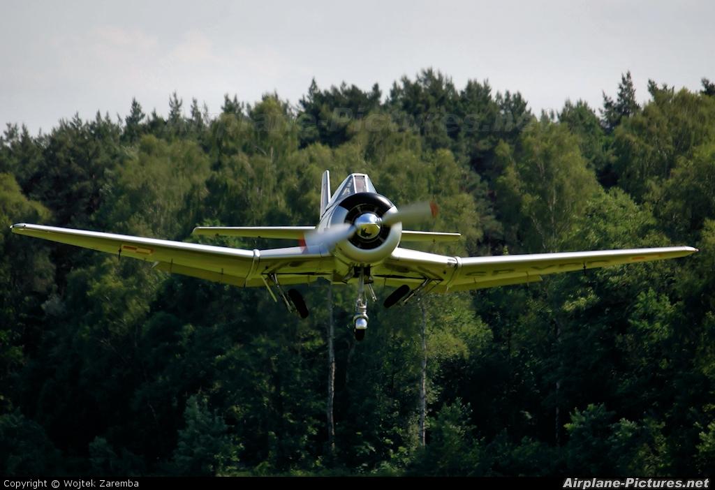 Private SP-YBD aircraft at Góraszka