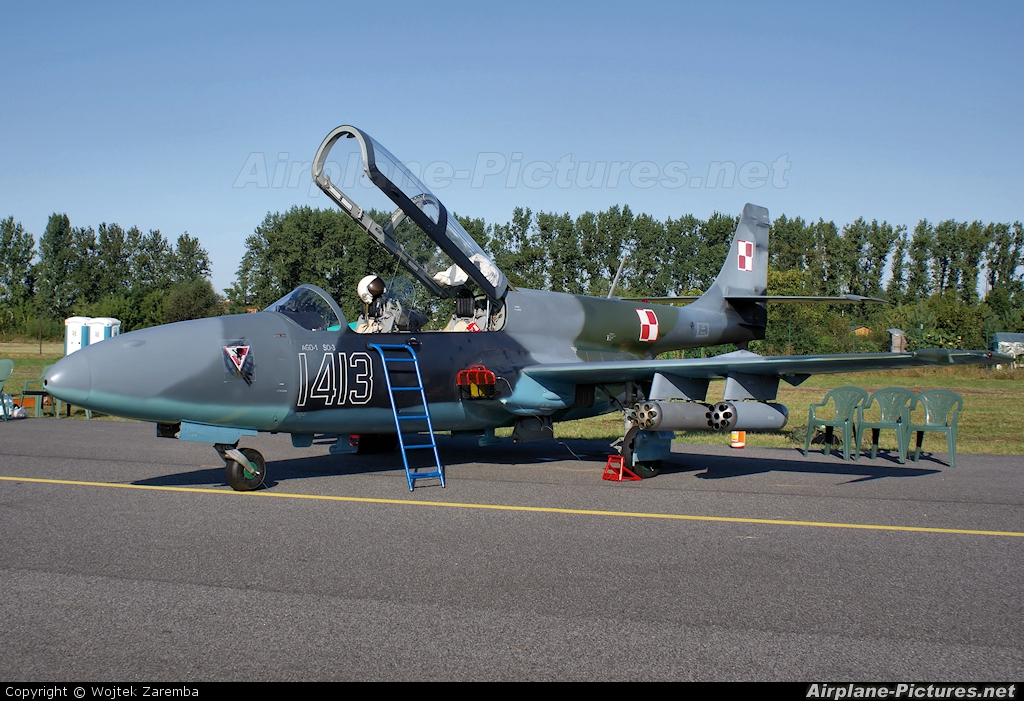 Poland - Air Force 1413 aircraft at Radom - Sadkow