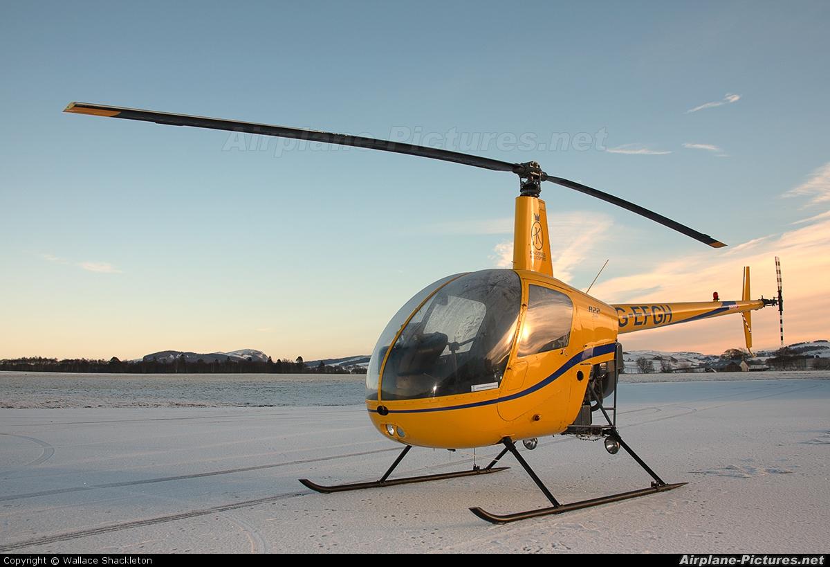 Yellow Robinson R22