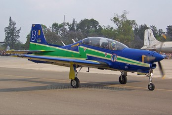 """1329 - Brazil - Air Force """"Esquadrilha da Fumaça"""" Embraer EMB-312 Tucano T-27"""