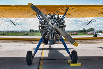 N351AH - Private Boeing Stearman, Kaydet (all models)