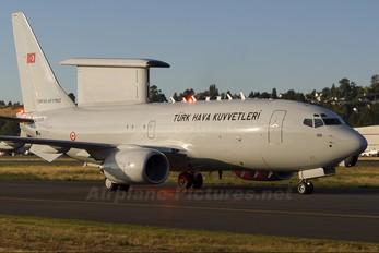 N356BJ - Turkey - Air Force Boeing 737-700 Wedgetail