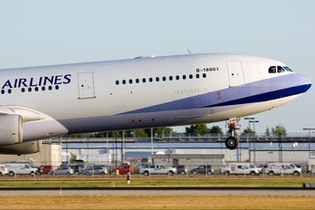 B-18801 - China Airlines Airbus A340-300