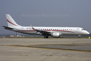 A6-HHS - Private Embraer ERJ-190-100 Lineage 1000