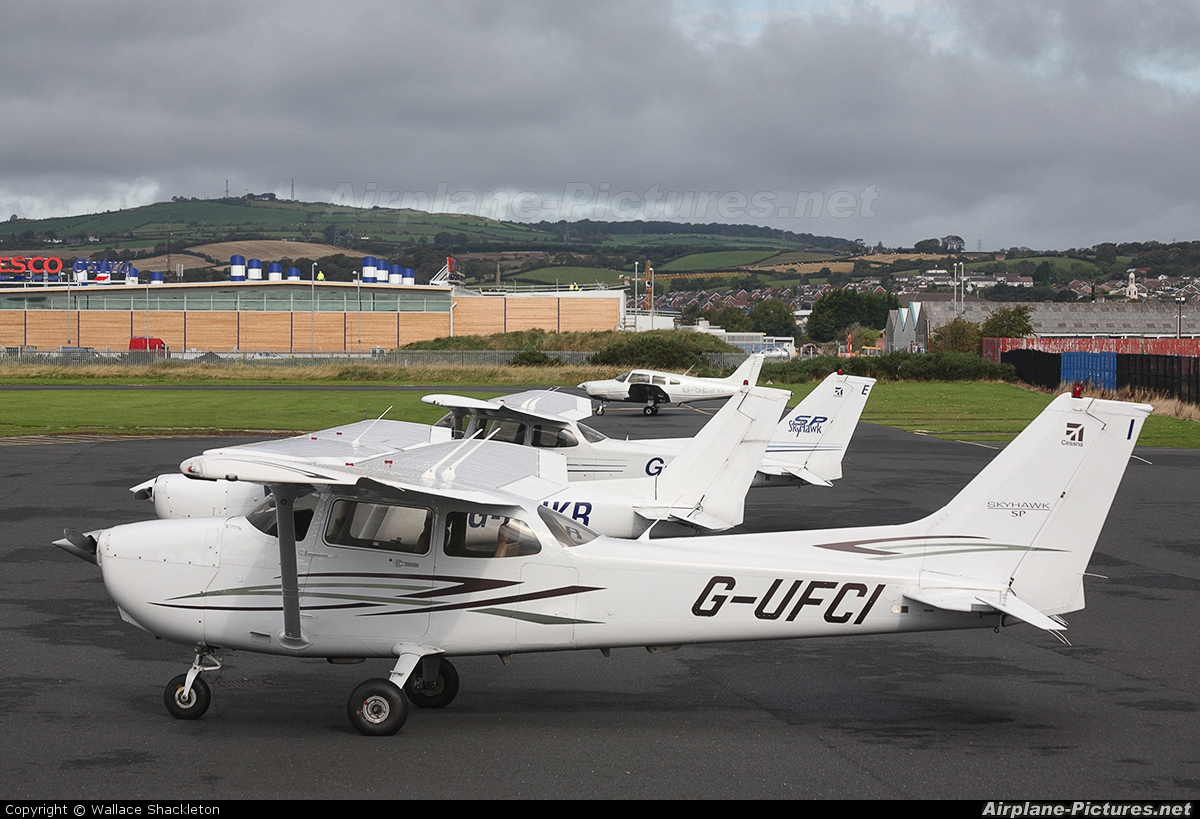 Ulster Flying Club G-UFCI aircraft at Newtownards