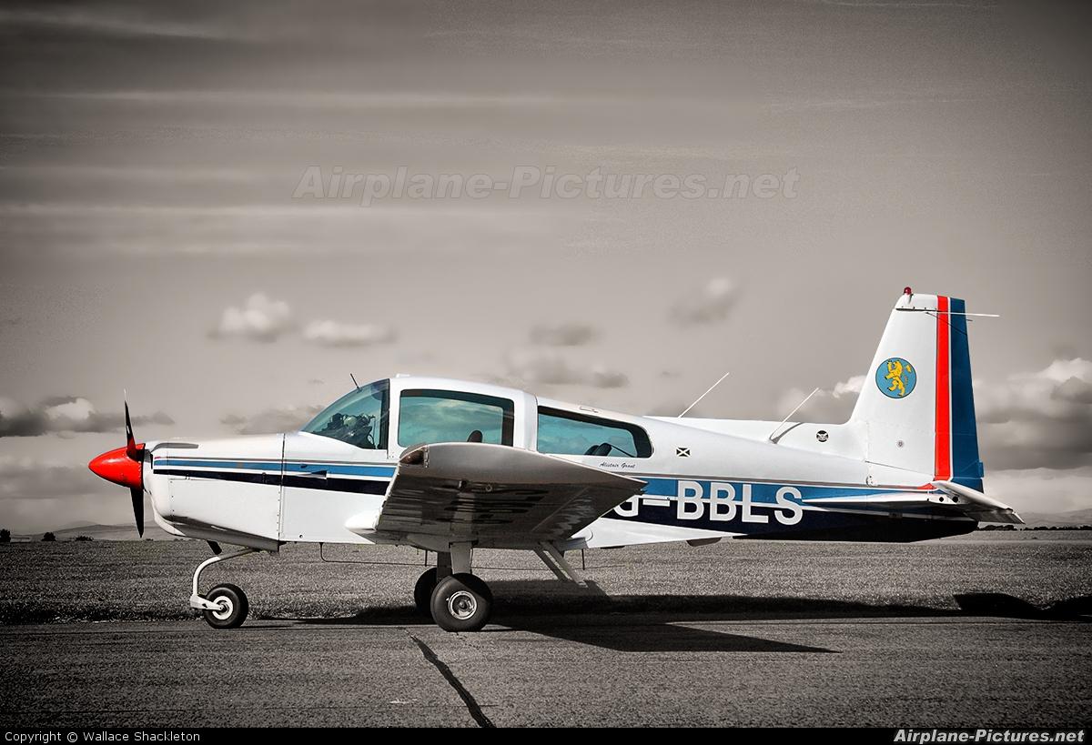 Private G-BBLS aircraft at Perth - Scone