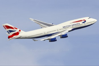 G-BNLX - British Airways Boeing 747-400