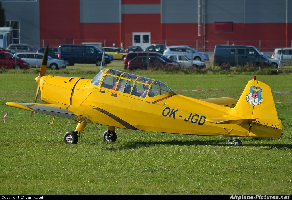 Aeroklub Kolín OK-JGD aircraft at Prague - Letňany