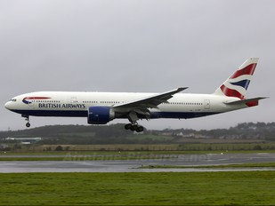 G-VIIF - British Airways Boeing 777-200