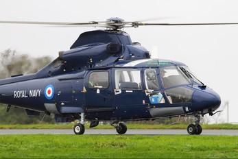 ZJ164 - Royal Navy Aerospatiale AS365 Dauphin II