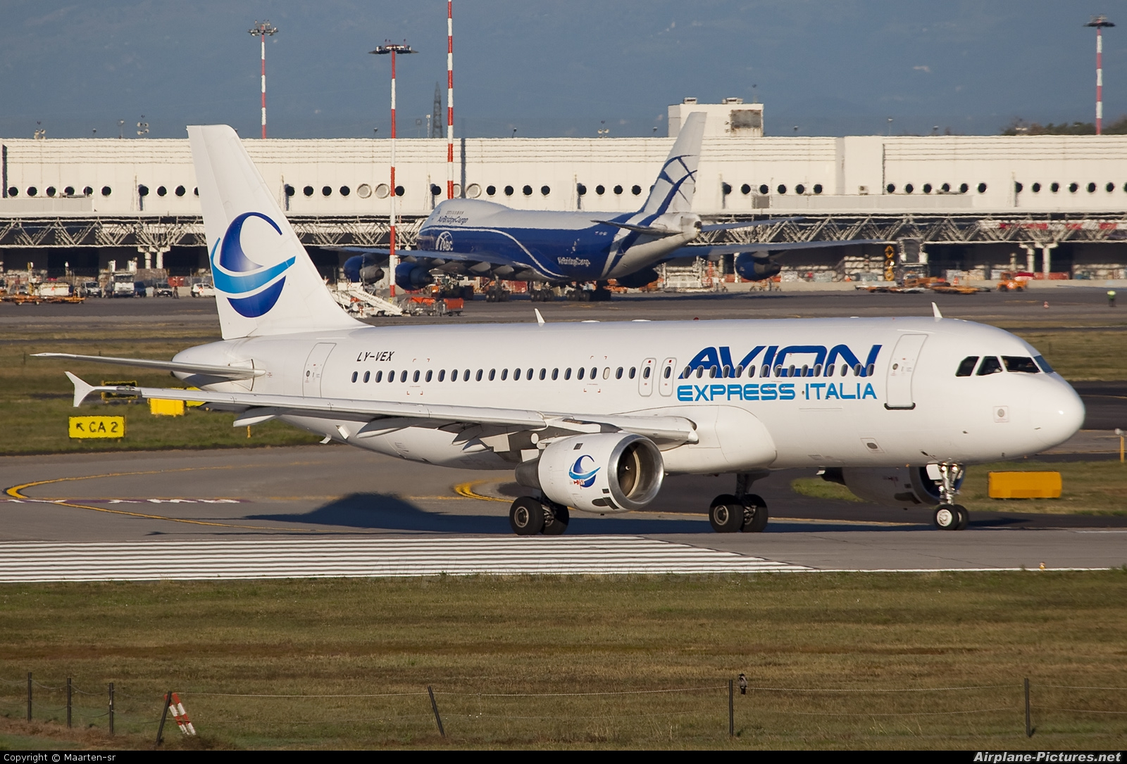 Avion Express Italia LY-VEX aircraft at Milan - Malpensa
