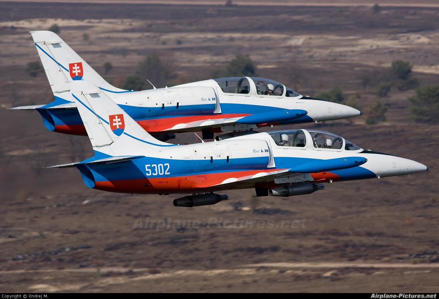 Slovakia -  Air Force 5302 aircraft at In Flight - Slovakia