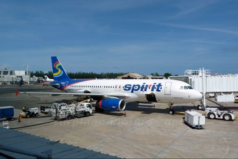 N601NK - Spirit Airlines Airbus A320