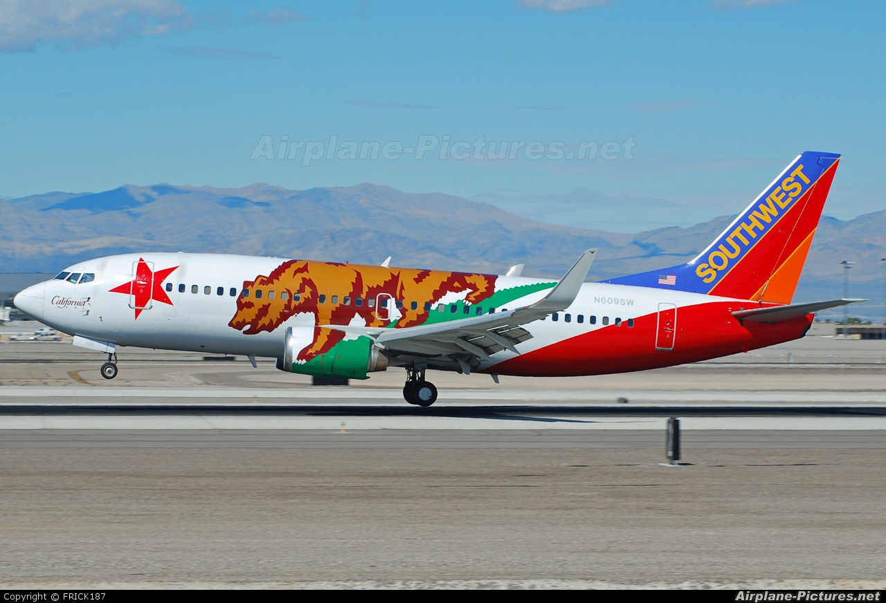 Southwest Airlines N609SW aircraft at Las Vegas - McCarran Intl