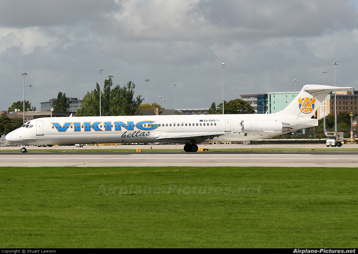 Viking Airlines SX-SMS aircraft at Manchester