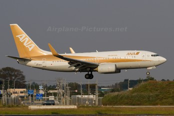 JA01AN - ANA/ANK - Air Nippon Boeing 737-700