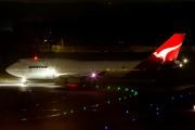 VH-OJJ - QANTAS Boeing 747-400 aircraft