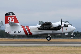 N448DF - California - Dept. of Forestry & Fire Protection Grumman S-2F3AT Turbo Tracker (G-121)
