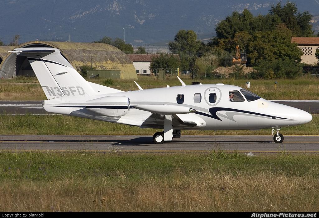 Private N36FD aircraft at Verona - Villafranca